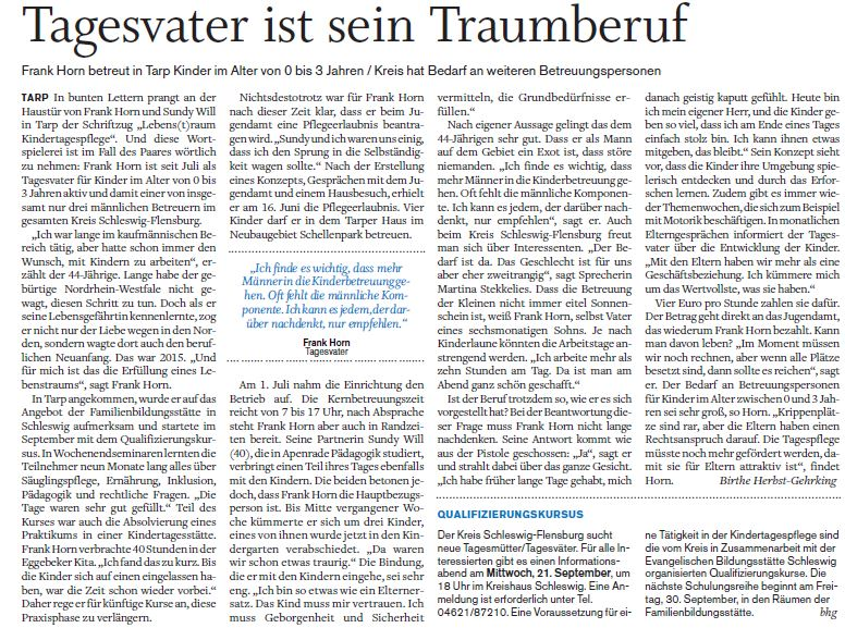 Schleswiger Nachrichten_05092016